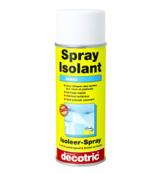 Spray peinture isolant