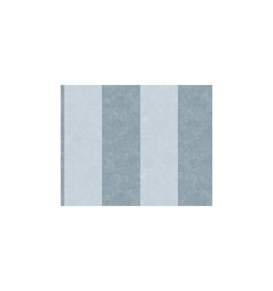 Papier Peint Rayé Gris Vinyle Expansé Sur Intissé 180 G