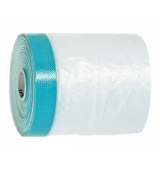 Film plastique adhésif solide et épais - Idéal travaux à l'extérieur