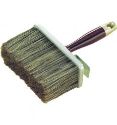 Brosse à encoller soies et métal pour revetements muraux