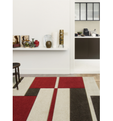 Tapis rectangulaire contemporain Picasso - plusieurs coloris - 160cm x 230cm