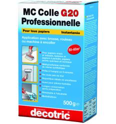Colle papier peint haut de gamme - MC Colle G20 Professionnelle - 500gr