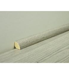 Quart de rond pour sol stratifié Techna - Décor bois