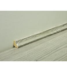Contre plinthe scotias pour sol stratifié Techna - Décor bois