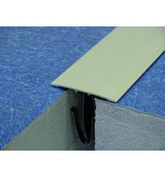 Couvre joint de sol adhésif aluminium - 3m