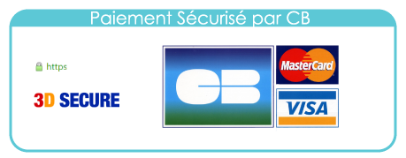 paiement sécurise sur amonstyle en CB avec 3D secure